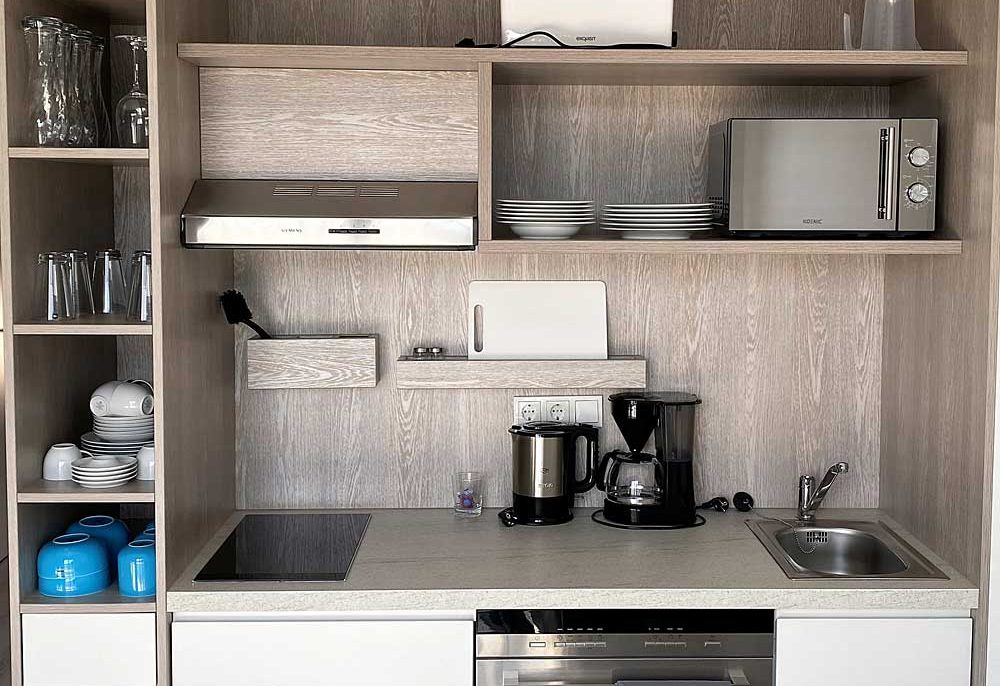 Küche-blau